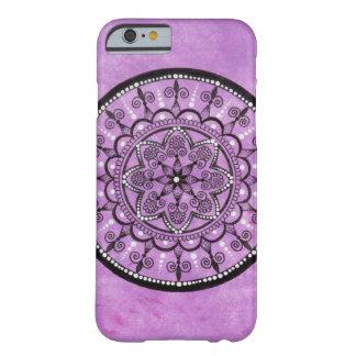 Hand Drawn Purple Mandala iPhone Case