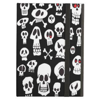 Hand Drawn Skulls Case For iPad Air