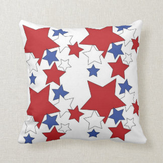 "Hand -Drawn Stars Polyester Throw Pillow 16"" x 16"" Throw Cushions"