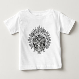 Hand Drawn Tiger In Style Baby T-Shirt