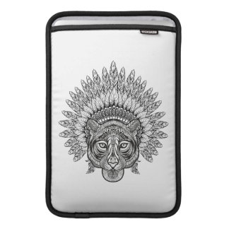 Hand Drawn Tiger In Style Sleeve For MacBook Air