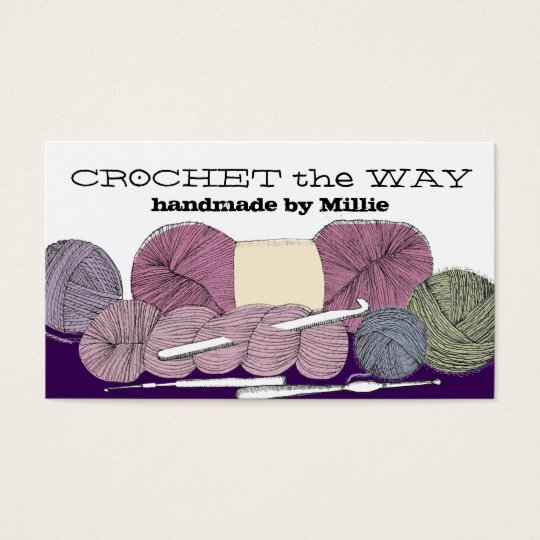 Hand drawn twisted yarn hank skein crochet hooks