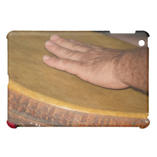 hand drum skin head with hand.jpg cover for the iPad mini