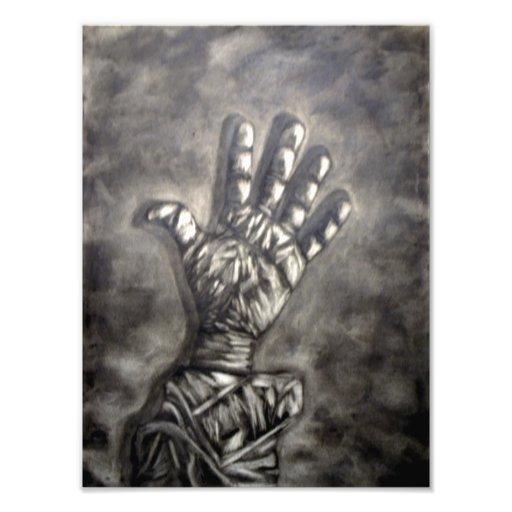 Hand Figure #3 Photo Print