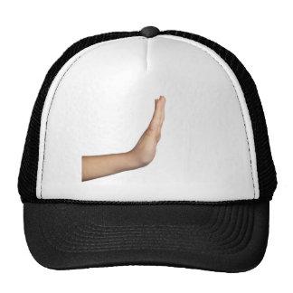 Hand gesture - Stop Cap