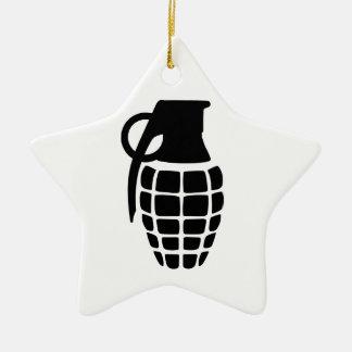 Hand Grenade Christmas Ornament