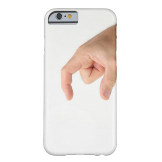 Hand Holding, Empty Barely There iPhone 6 Case