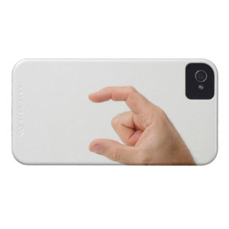 Hand Holding, Empty iPhone 4 Cases