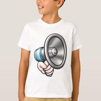 Hand Holding Megaphone T-Shirt