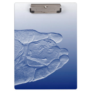 hand holding pepper raised  blue food abstract clipboards