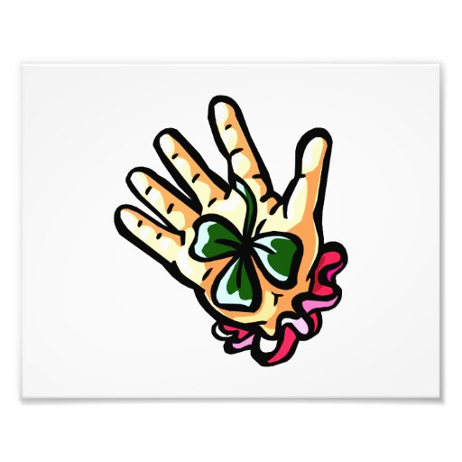 hand holding three leaf lucky clover.png photograph