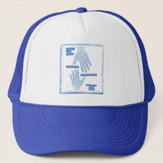 Hand in Hand Blue Trucker Hat