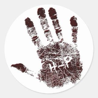 HAND LOGO Sticker Sheet