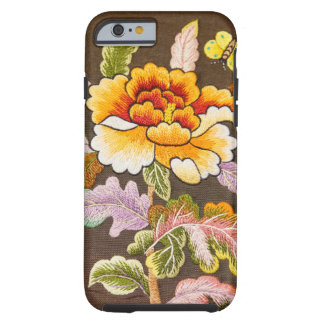 Hand made embroidery tough iPhone 6 case