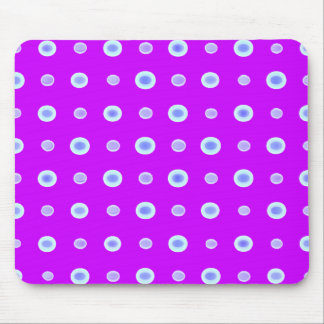 Hand Made Polka Dance Berries Mouse Mats