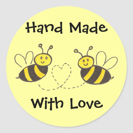 Hand Made with Love - Honey Bees with