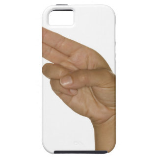 Hand making H sign Case For The iPhone 5