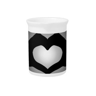 hand making sign Heart Drink Pitchers