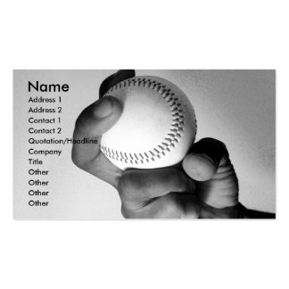 Hand of an Athlete Business Card Templates