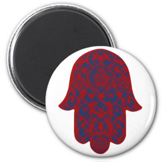 Hand of Fatima 6 Cm Round Magnet