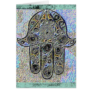 Hand of Fatima card