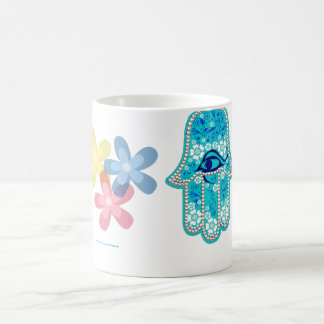 Hand of Fatima hamsa Coffee Mug