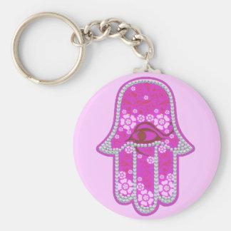Hand of Fatima hamsa Key Ring