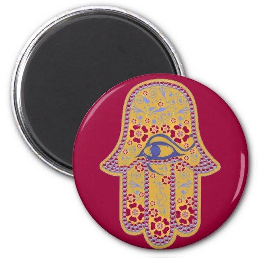 Hand of Fatima hamsa Refrigerator Magnet