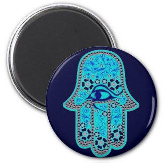 Hand of Fatima hamsa Magnet