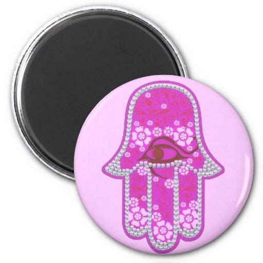 Hand of Fatima hamsa Magnets