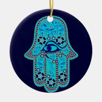 Hand of Fatima hamsa ornament
