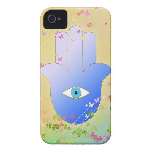 Hand of Fatima iPhone 4 Case-Mate Cases