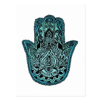 Hand of Fatima Postcard