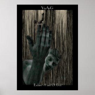 Hand Of God (detroit poster) Poster