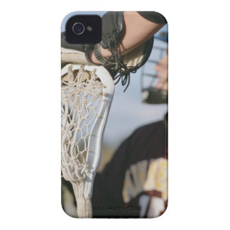 Hand on a Lacrosse Stick Case-Mate iPhone 4 Cases