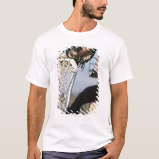 Hand on a Lacrosse Stick T-Shirt