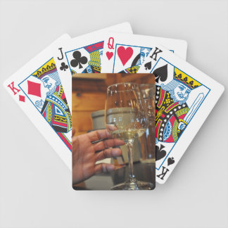 hand on wine Zaz JPG Playing Cards