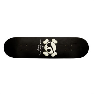 Hand Over The Candy Pirate 18.1 Cm Old School Skateboard Deck