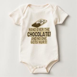 Hand Over The Chocolate Baby Bodysuit