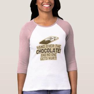 Hand Over The Chocolate Tee Shirts