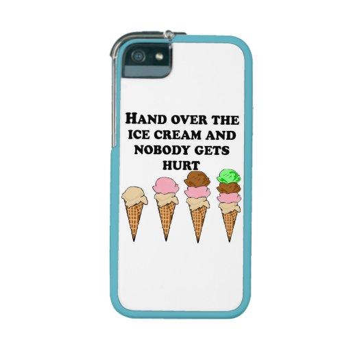 Hand Over The Ice Cream iPhone 5/5S Cases