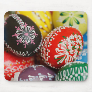 Hand Painted Easter Eggs Mouse Pad