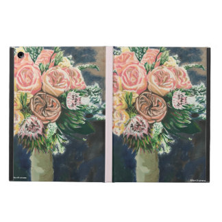 Hand Painted Floral Bouquet iPad Case