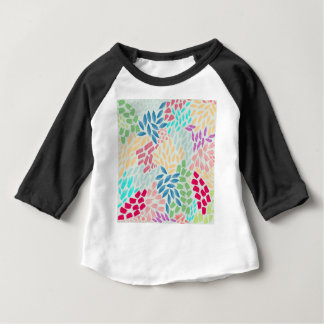 Hand Painted Flower Shower Baby T-Shirt