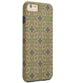 Hand-painted pattern tough iPhone 6 plus case