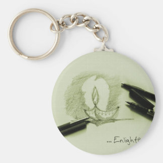 Hand Painting 4 Keychain