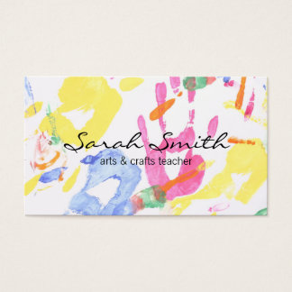 Hand Painting II (variation) Business Card