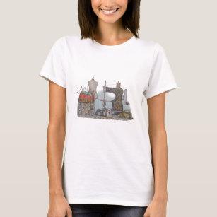 Hand Powered Sewing Machine T-Shirt