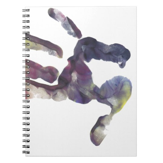 Hand Print Notebooks
