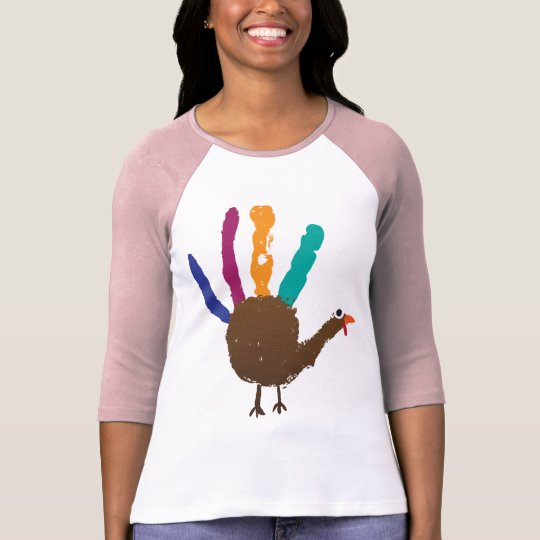 Hand Print Turkey T-Shirt